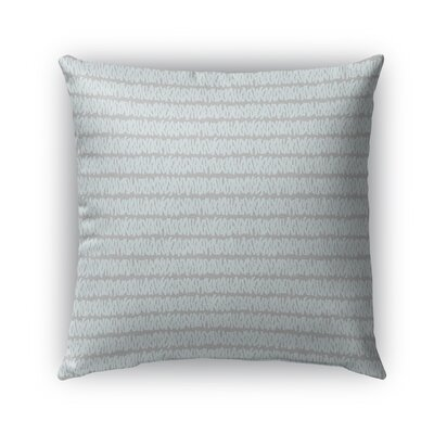 Leakey Indoor/Outdoor Pillow Color: Blue, Size: 16 x 16, Product Type: Throw Pillow