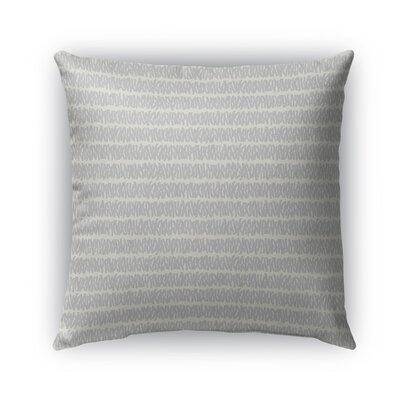 Leakey Indoor/Outdoor Pillow Color: Beige, Size: 18 x 18, Product Type: Throw Pillow