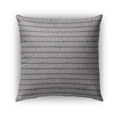 Leakey Indoor/Outdoor Pillow Color: Purple, Size: 18 x 18, Product Type: Throw Pillow