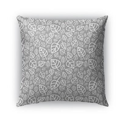 Dillman Indoor/Outdoor Pillow Color: Gray, Size: 18 x 18, Product Type: Throw Pillow