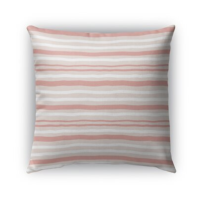 Ewers Indoor/Outdoor Pillow Color: Coral/Tan, Size: 26 x 26, Product Type: Euro