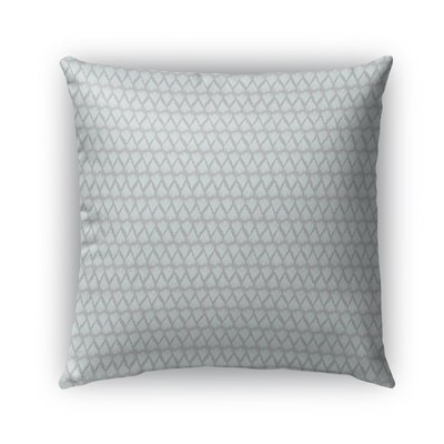 Leanos Indoor/Outdoor Pillow Color: Gray, Size: 26 x 26, Product Type: Euro