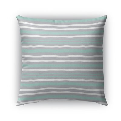 Ewers Indoor/Outdoor Pillow Color: Mint/Green, Size: 16 x 16, Product Type: Throw Pillow