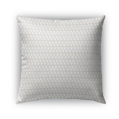 Leanos Indoor/Outdoor Pillow Color: Tan, Size: 18 x 18, Product Type: Throw Pillow