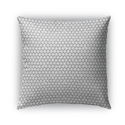 Shante Indoor/Outdoor Pillow Color: Green/Gray, Size: 26 x 26, Product Type: Euro