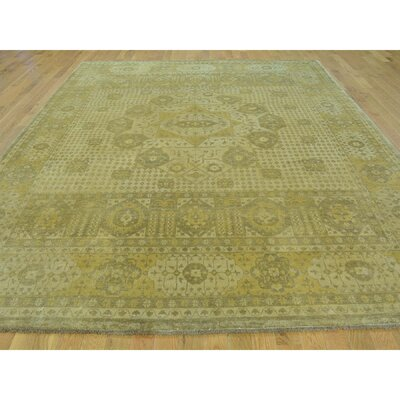 One-of-a-Kind Gowdy Egyptian Oriental Hand-Knotted Area Rug