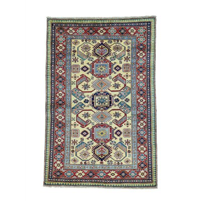 One-of-a-Kind Tilomar Shirvan Oriental Hand-Knotted Area Rug