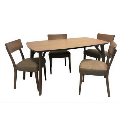 Cromartie 5 Piece Dining Set