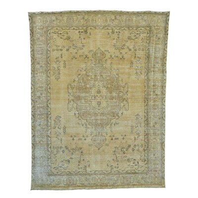 One-of-a-Kind Laursen Overdyed Vintage Hand-Knotted Area Rug