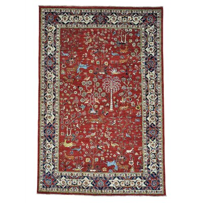 One-of-a-Kind Granillo Tree Of Life Hand-Knotted Area Rug