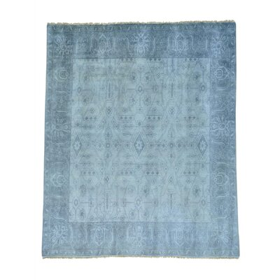 One-of-a-Kind Sheehan Tone on Tone Hand-Knotted Area Rug