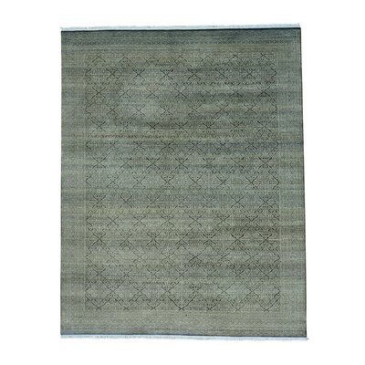 One-of-a-Kind Laurier Tone on Tone Oriental Hand-Knotted Area Rug