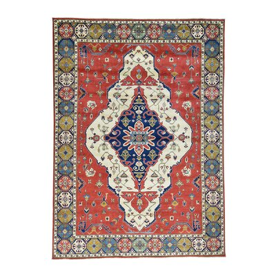 One-of-a-Kind Tillotson Medallion Hand-Knotted Area Rug