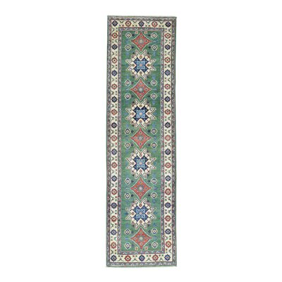 One-of-a-Kind Lawerence Geometric Hand-Knotted Area Rug
