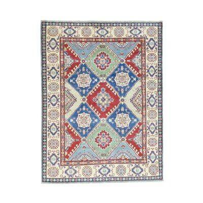 One-of-a-Kind Tillotson Geometric Hand-Knotted Area Rug