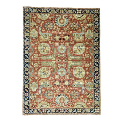 One-of-a-Kind Salzman Oriental All Over Hand-Knotted Area Rug
