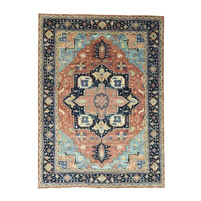 One-of-a-Kind Salzman Serapi Re-creation Oriental Hand-Knotted Area Rug
