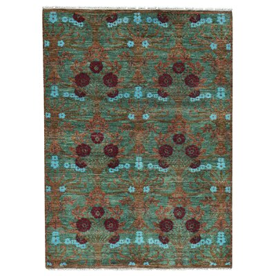 One-of-a-Kind Schrader Oriental Hand-Knotted Area Rug