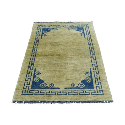 One-of-a-Kind Greear Knotan Hand-Knotted Area Rug