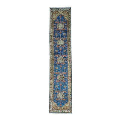 One-of-a-Kind Graver High KPSI Natural Dyes Oriental Hand-Knotted Area Rug