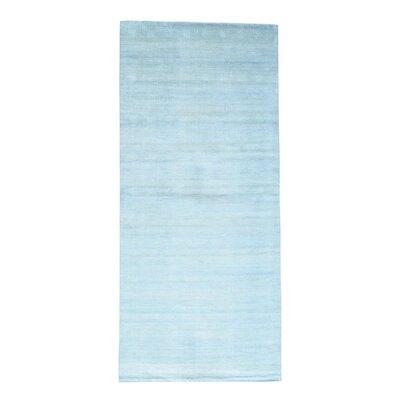 One-of-a-Kind Tasha Hand-Knotted Silk Area Rug
