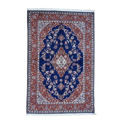 One-of-a-Kind Ruelas Sino Dense Weave Oriental Discounted Hand-Knotted Area Rug