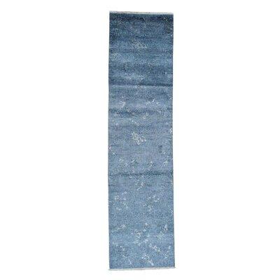 One-of-a-Kind Tasha Dark Oriental Hand-Knotted Area Rug