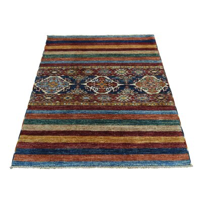One-of-a-Kind Tillotson Super Khorjin Oriental Hand-Knotted Area Rug Rug Size: Rectangle 210 x 4