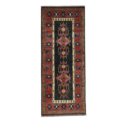 One-of-a-Kind Graybill Ersari Hand-Knotted Area Rug Rug Size: Runner 41 x 102