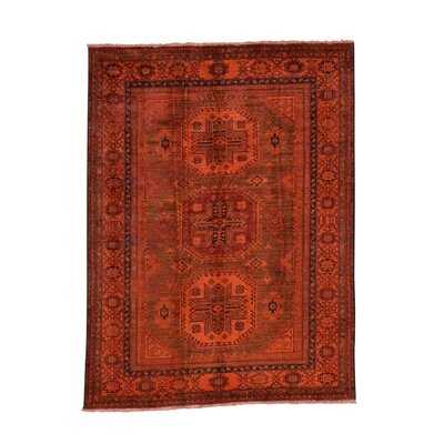 One-of-a-Kind Tilomar Super Overdyed Oriental Hand-Knotted Area Rug