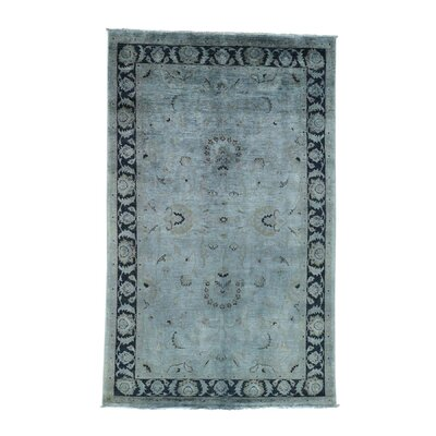 One-of-a-Kind Le Sirenuse Cast Overdyed Oriental Hand-Knotted Area Rug