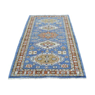 One-of-a-Kind Leafwood Peshawar Oriental Hand-Knotted Area Rug