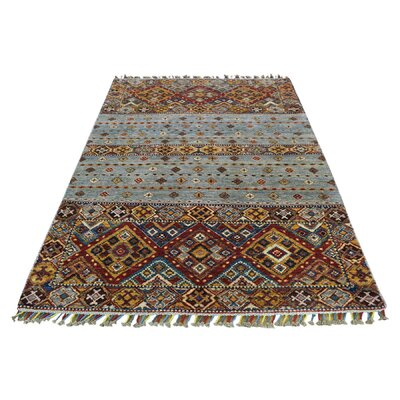 One-of-a-Kind Tillman Super Khorjin Oriental Hand-Knotted Area Rug