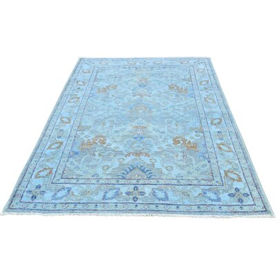 One-of-a-Kind Kells-Connor Cast Overdyed Oriental Hand-Knotted Area Rug