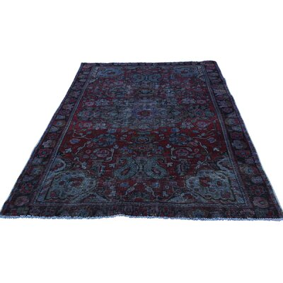 One-of-a-Kind Kenilworth Overdyed Vintage Hand-Knotted Area Rug