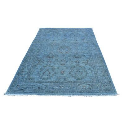 One-of-a-Kind Kensington Overdyed Hand-Knotted Area Rug