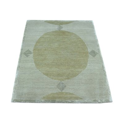 One-of-a-Kind Odoms Oriental Hand-Knotted Silk Area Rug