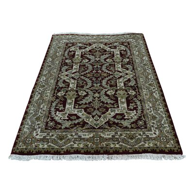 One-of-a-Kind Rudolph New Zealand 300 KPSI Oriental Hand-Knotted Area Rug Rug Size: Rectangle 31 x 5