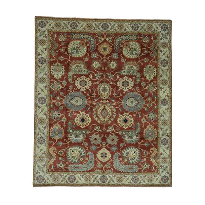 One-of-a-Kind Salvato All Over Oriental Hand-Knotted Area Rug
