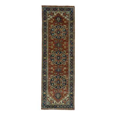 One-of-a-Kind Rueter Re-creation Oriental Hand-Knotted Area Rug Rug Size: Runner 28 x 10