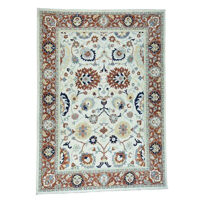 One-of-a-Kind Le Sirenuse Sultanabad Oriental Hand-Knotted Area Rug Rug Size: Rectangle 10 x 14