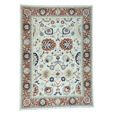 One-of-a-Kind Le Sirenuse Sultanabad Oriental Hand-Knotted Area Rug Rug Size: Rectangle 8 x 98