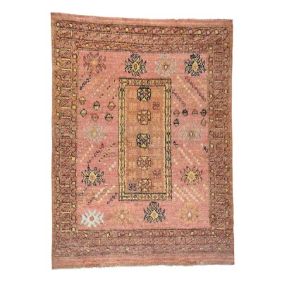 One-of-a-Kind Yasmine Plush Shaggy Hand-Knotted Area Rug Rug Size: Rectangle 810 x 12