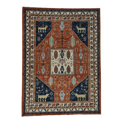 One-of-a-Kind Gowan Ancient Animal Hand-Knotted Area Rug Rug Size: Rectangle 9 x 118