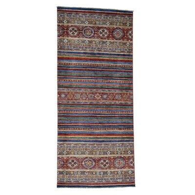 One-of-a-Kind Tilomar Super Khorjin Hand-Knotted Area Rug Rug Size: Runner 42 x 96