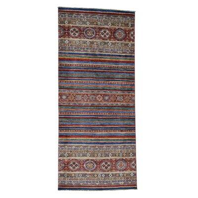 One-of-a-Kind Tilomar Super Khorjin Hand-Knotted Area Rug Rug Size: Runner 44 x 97