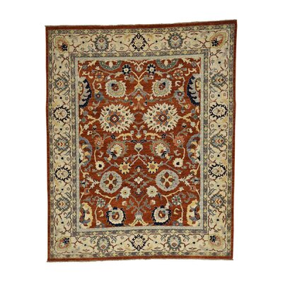 One-of-a-Kind Le Sirenuse Hand-Knotted Area Rug Rug Size: Rectangle 91 x 12