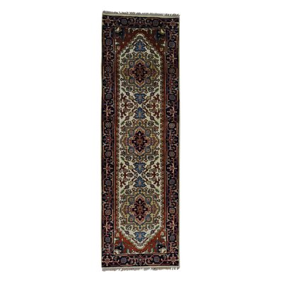 One-of-a-Kind Saltford Hand-Knotted Area Rug