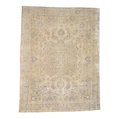 One-of-a-Kind Rudolph Vintage Oriental Hand-Knotted Area Rug