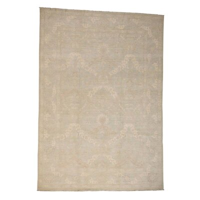 One-of-a-Kind Kells-Connor Mint Oriental Hand-Knotted Area Rug